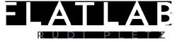 Flatlab – Rudi Pletz Logo